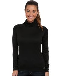 Hot Chillys - Peach Roll T-neck (white) Women's Long Sleeve Pullover - Lyst