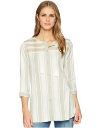 Woolrich - Eco Rich Cleo Falls Tunic (sea Gray) Women's Clothing - Lyst