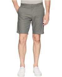 Calvin Klein - Textured Flat Front Shorts (oak Leaf) Men's Shorts - Lyst