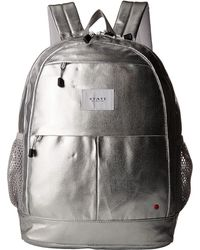State Bags - Metallic Leny Backpack (silver) Backpack Bags - Lyst