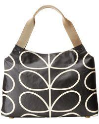 Orla Kiely - Classic Zip Shoulder Bag - Lyst