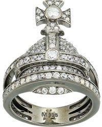Vivienne Westwood - Orb Ring - Lyst