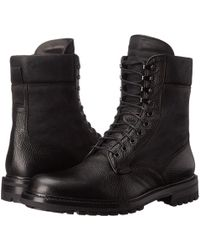 Rag & Bone - Spencer Commando Leather Boots - Lyst