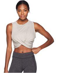 Free People - Undertow Tank Top (grey) Women's Clothing - Lyst