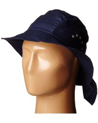 Betmar - Knotted Cloche (navy) Caps - Lyst