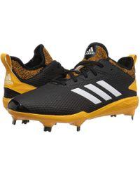 big sale 6d574 71cb4 adidas - Adizero Afterburner V (blackcloud Whitecollegiate Gold) Mens  Cleated