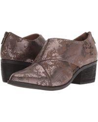 Me Too - Taze (brown Floral Velvet) Women's Shoes - Lyst