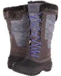 bcb9add7495 The North Face - Shellista Ii Tall (plum Kitten Grey deep Wisteria Purple (