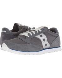Saucony - Jazz Low Pro (black/dark Gray/red) Men's Classic Shoes - Lyst