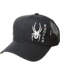 bb0e902356c1c Spyder - Brody Cap (white black black) Caps - Lyst