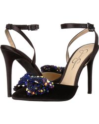 ec7999aa1e9 Jessica Simpson - Pearlanna (gilded Gold Shimmer Sand) Women s Shoes - Lyst