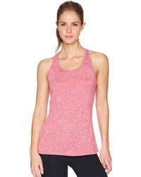 Nike - Balance Cross-dye Veneer Dry Tank Top (black/cool Grey/white) Women's Workout - Lyst