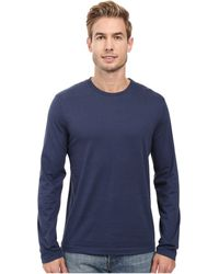 Mod-o-doc - Carlsbad Long Sleeve Jersey Crew Tee (white) Men's T Shirt - Lyst