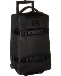 Burton - Wheelie Flight Deck Travel Luggage (true Black Ballistic) Luggage - Lyst