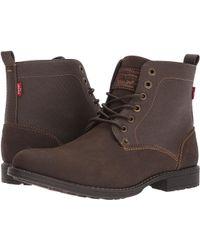 Levi's - Levi's(r) Shoes Lakeport (black Mono Chrome) Men's Shoes - Lyst