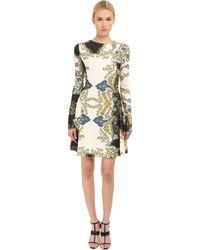 Just Cavalli - S04ct0173-n36363-900s (st. Paisley Crown) Women's Dress - Lyst