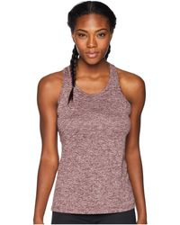Nike - Balance Cross-dye Veneer Dry Tank Top (black/cool Grey/white) Women's Workout - Lyst