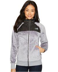 627c526d8a The North Face - Oso Hoodie (mid Grey asphalt Grey) Women s Jacket -