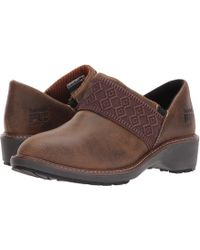 Timberland - Riveter Alloy Safety Toe Sd+ (dark Sudan Full Grain Leather) Women's Industrial Shoes - Lyst