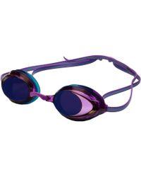 Speedo - Wms Vanquisher 2.0 Mirrored Goggle (purple Dream) Water Goggles - Lyst