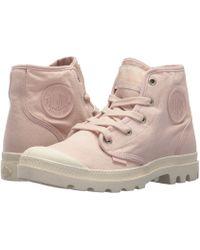 Palladium - Pampa Hi (peach Whip/marshmallow) Women's Lace-up Boots - Lyst