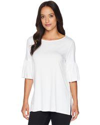Karen Kane - Side Slit Flare Sleeve Top (peony) Women's Clothing - Lyst