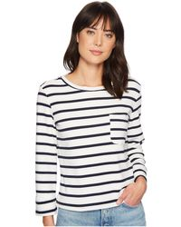 Bishop + Young - Stripe Back Lace-up Top - Lyst