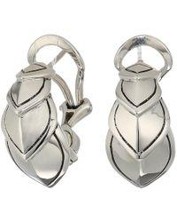 John Hardy - Legends Naga Buddha Belly Earrings (silver) Earring - Lyst