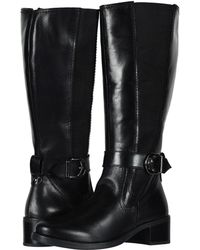 David Tate - Portofino (Luggage Calf Skin) Women's Dress Pull-on Boots - Lyst
