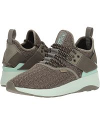 Palladium - Ax Eon Lace Knitted (vetiver/olive Night/misty Jade) Women's Shoes - Lyst