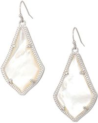 Kendra Scott - Alex Earring (gold Slate Cat's Eye) Earring - Lyst