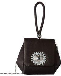Jessica Mcclintock - Honey Top-handle Clutch (black) Clutch Handbags - Lyst