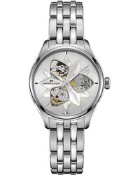 Hamilton - Jazzmaster Open Heart Lady - H32115191 (silver) Watches - Lyst