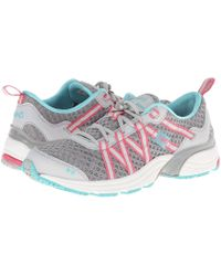 Ryka - Hydro Sport Slp (silver Cloud/cool Mist Grey/winter Blue/hot Pink) Women's Shoes - Lyst