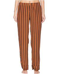 Maison Du Soir - Alexandra Pants (brick Red) Women's Casual Pants - Lyst