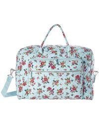 Vera Bradley - Iconic Grand Weekender Travel Bag (classic Black) Weekender/overnight Luggage - Lyst