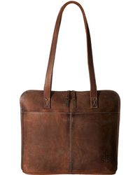 STS Ranchwear - The Baroness Laptop Shopper (brown) Computer Bags - Lyst