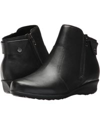 Drew - Athens (black Leather) Women's Shoes - Lyst
