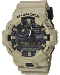 G-Shock - Ga-700uc (gray) Sport Watches - Lyst