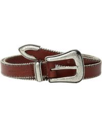 Rebecca Minkoff - 25 Mm Smooth Ball Chain Belt (black/nickel) Women's Belts - Lyst