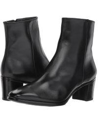 Gravati - Side Zip Bootie (black) Women's Boots - Lyst