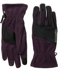 Columbia - Mountainside Gloves (dusty Purple/shark) Extreme Cold Weather Gloves - Lyst