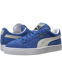 PUMA - Suede Classic (high Risk Red/white) Women's Shoes - Lyst