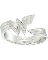 ALEX AND ANI - Wonder Woman Ring Wrap - Lyst