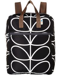 Orla Kiely - Linear Stem Packaway Backpack - Lyst