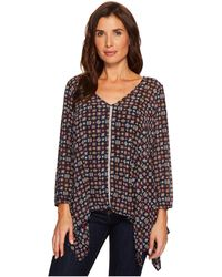 Roper - 1562 Printed Polyester Long Length Tunic - Lyst