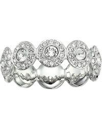 Swarovski - Angelic Ring (teal) Ring - Lyst