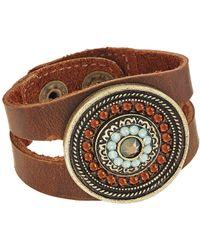 Leatherock - Bree Bracelet (granite) Bracelet - Lyst
