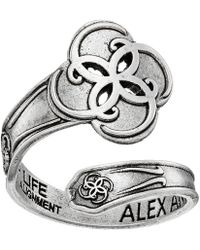 ALEX AND ANI - Spoon Ring Breath Of Life - Lyst