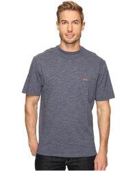 Pendleton - S/s Deschutes Pocket Shirt (grey Heather) Men's T Shirt - Lyst